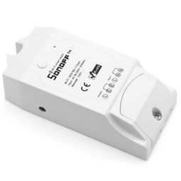 Releu Wireless 16 Amperi, un canal si intrare senzor umiditate/temperatura SONOFF TH16