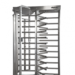 Digicon TX1500 Full-Height Turnstile turnichet vertical