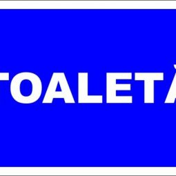 "Indicator de securitate de informare generala ""Toaleta-model 2"""