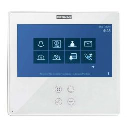 FERMAX F1650 monitor IP Smile Touch 7